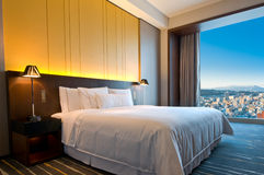 Penthouse room on a sunny day Royalty Free Stock Photos