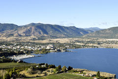 Penticton British Columbia Canada Okanagan Valley Stock Photography