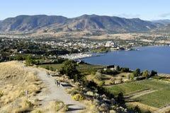 Penticton British Columbia Canada Okanagan Valley Royalty Free Stock Photos