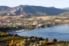Penticton Okanagan Valley British Columbia Canada Stock Photography