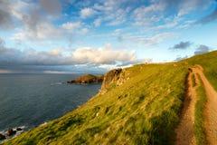 Pentire Head on the Cornish Coast Royalty Free Stock Photo