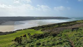 Pentire Headland Newquay, Cornwall Royalty Free Stock Photo