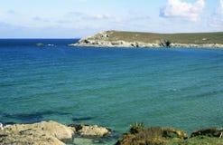 Pentire punkt, Cornwall Royaltyfria Bilder