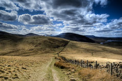 Pentland Hill View Stock Image