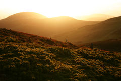 Pentland Hills. Beautifull weather is scottish mountains Stock Photography