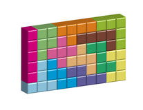 Pentomino Royalty Free Stock Photos