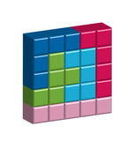 Pentomino Stock Photo