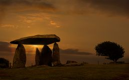 Pentre Ifan Royalty Free Stock Photo