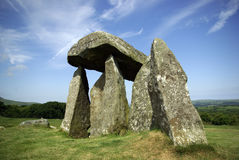 Pentre Ifan burial chamber Royalty Free Stock Images
