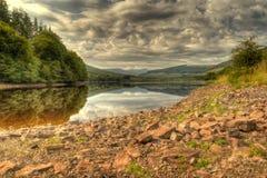 Pentwyn-Reservoir Lizenzfreies Stockfoto