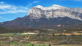 Penya Montanyesa. In the Aragonese Pyrenees, Spain Stock Images