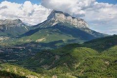 Penya Montanyesa in the Aragonese Pyrenees, Spain. Penya Montanyesa in the Aragonese Pyrenees, Huesca, Spain royalty free stock photo