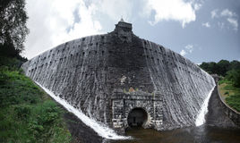 Penygarreg reservoir. Architectural details of Penygarreg reservoir, Elan Valley, Wales Stock Photo