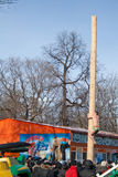 PENZA, RUSSLAND - 14. Februar Stockfoto