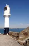 Penzance. A Lighthouse inPenzance royalty free stock image