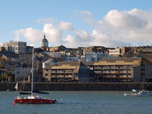 Penzance Cornwall Arkivfoto