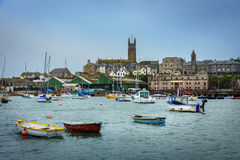 Penzance Cornwall, Anglia UK - Obraz Stock