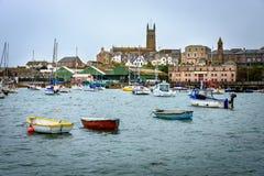 Penzance, Cornwall, het UK Stock Afbeelding
