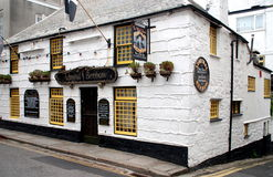 Penzance, England: Admiral Benbow Inn Stock Photo