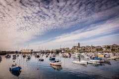 Penzance harbour Royalty Free Stock Images