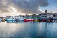 Penzance Harbour Cornwall Stock Photos