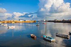 Penzance Harbour Cornwall Stock Photography