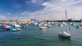Penzance Harbour Cornwall England Stock Photos
