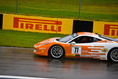 Penzoil Ferrari racing at Montreal Grand prix Stock Photos