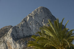 Peñon de Ifach Stock Photography