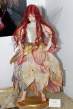 Peonia, bambola raccoglibile di OOAK da Laura Scattolini Italy Fotografia Stock Libera da Diritti