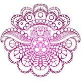 Peonia gradient Obraz Royalty Free