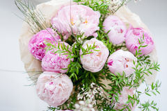 Peonies bouquet Royalty Free Stock Photography