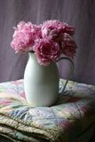 Peonies in Pitcher Stock Photography