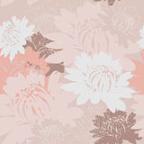 Peonies seamless  wallpaper Royalty Free Stock Images
