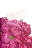 Peony bouquet Stock Photo