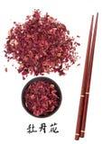 Peony Flower Medicine Stock Images