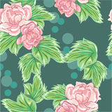 Peony pattern Royalty Free Stock Photography