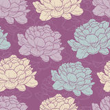 Peony pattern Royalty Free Stock Photo