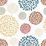 Peony seamless pattern Stock Image