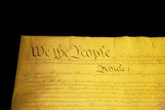 We The People Royalty Free Stock Photos