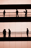 People. Workers in the building Royalty Free Stock Photo