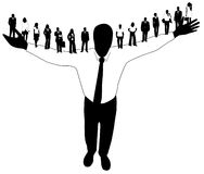 People. Illustration of people, man, woman Royalty Free Stock Photo