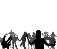 PEOPLE. Vector Art Design Elements Royalty Free Stock Images