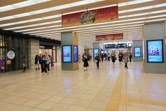 People across Tennoji subway station Stock Photos