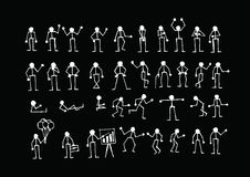 People actions Sign Symbol Pictogram Stock Photos