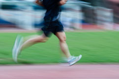 People activity running blur Royalty Free Stock Images