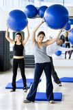People in aerobics class Royalty Free Stock Images