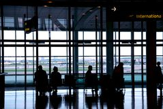 People airport Stock Photos