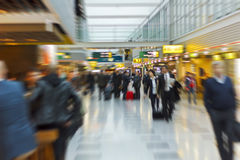People at the airport Royalty Free Stock Image