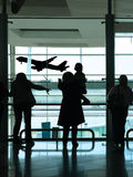 People in the airport Royalty Free Stock Images